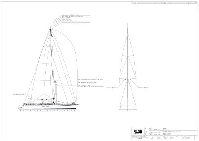 Swan 54 Yacht Bluewater Ocen Cruiser